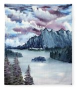 Frozen River Fleece Blanket