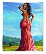 Summer Blossom Fleece Blanket