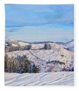 Frozen Valley 2 V3 Fleece Blanket