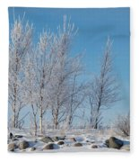 Frozen Views 2 Fleece Blanket