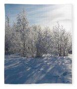 Frozen Views 3 Fleece Blanket