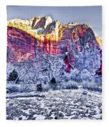 Frozen Zion Fleece Blanket
