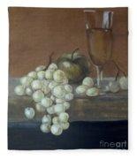 Fruit And Wine Fleece Blanket