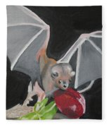 Fruit Bat Fleece Blanket