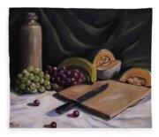 Fruit By The Light Fleece Blanket
