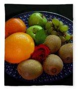 Fruit Dish Fleece Blanket