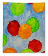 Fruit Drops Fleece Blanket