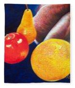 Fruit Lips Fleece Blanket