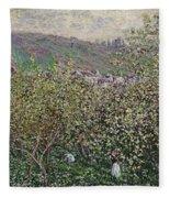 Fruit Pickers Fleece Blanket