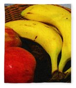Frutta Rustica Fleece Blanket