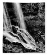 Fry Falls Overlook Fleece Blanket