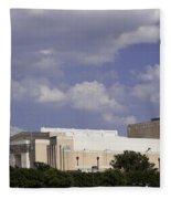 Ft Worth Texas - Landmark Fleece Blanket