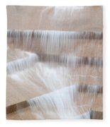 Ft Worth Water Gardens Fleece Blanket