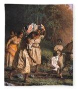 Fugitive Slaves, 1867 Fleece Blanket