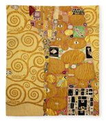 Fulfilment Stoclet Frieze Fleece Blanket