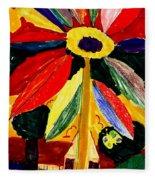 Full Bloom - My Home 2 Fleece Blanket