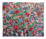 Full Bloom. Fleece Blanket