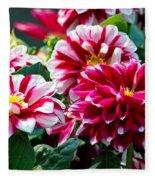 Full Blooms Fleece Blanket
