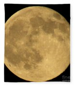 Full Moon Fleece Blanket