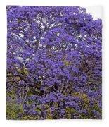 Full On Purple Fleece Blanket