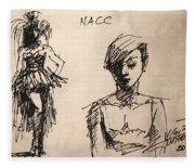 Fun At Art Of Fashion At Nacc 1 Fleece Blanket