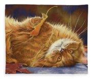 Fun In The Fall Fleece Blanket