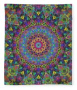 Fun With Color Fleece Blanket