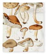 Fungi Fleece Blanket