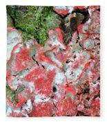Fungus Amongst Us - Florida Palm Fleece Blanket