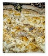 Fungus Pizza Fleece Blanket