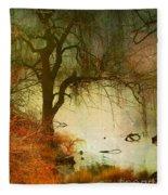 Funky Reflections 2 Fleece Blanket
