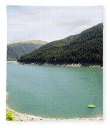 Funsingau Dam Near Gerlos Fleece Blanket