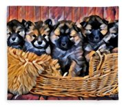 Fur Babies Fleece Blanket