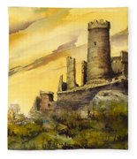 Furstenburg On The Rhine Fleece Blanket