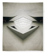 Futuristic Architecture One Fleece Blanket