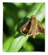 Fuzzy Moth Fleece Blanket