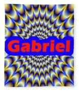 Gabriel Fleece Blanket