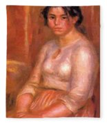 Gabrielle Seated Fleece Blanket