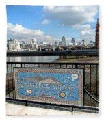 Gabriel's Wharf Fleece Blanket
