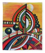 Gaia's Dream Fleece Blanket