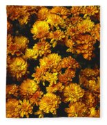 Gaia's Gold Fleece Blanket