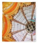 Galeries Lafayette Inside 3 Art Fleece Blanket