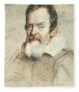 Galileo Galilei Fleece Blanket