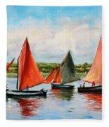 Galway Hookers Fleece Blanket