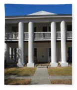 Gamble Mansion Parrish Florida Fleece Blanket