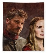 Game Of Thrones. Cersei And Jaime. Fleece Blanket