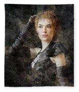 Game Of Thrones. Cersei Lannister. Fleece Blanket