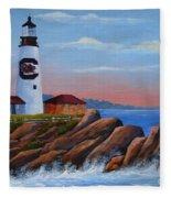 Gamecock Lighthouse Fleece Blanket