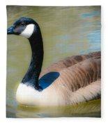 Gander At A Goose Fleece Blanket