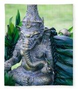 Ganesha Ganesa Ganapati Vinayaka Pillaiyar Hindu Pantheon Fleece Blanket